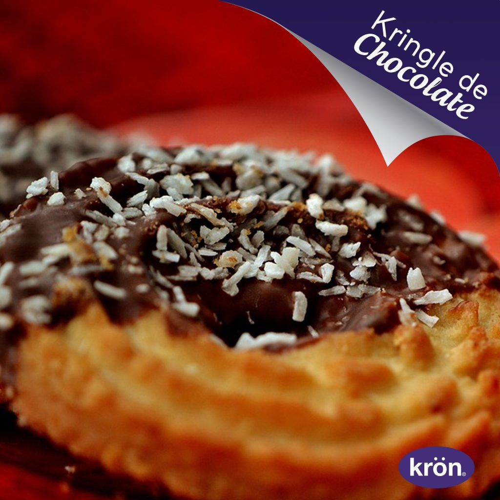 kringle de chocolate